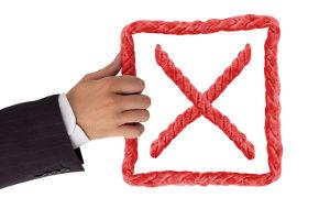 Außergerichtlicher Einigungsversuch: Wenn ein Gläubiger den Vorschlag ablehnt, ist der Versuch gescheitert.