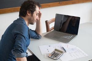 Ist die Ursache für Ihre Geldsorgen ein Kredit, den Sie abzahlen müssen?