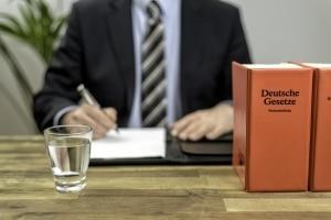 Wie ist das Insolvenzgesetz im deutschen Recht verankert?
