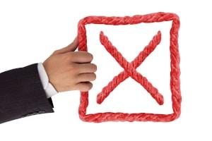 Kredit umschulden: Eine schlechte Bonität führt eher dazu, dass der Kreditgeber kein Darlehen vergibt.
