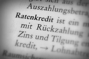 Kreditunwürdigkeit bedeutet, dass die finanzielle Vertrauenswürdigkeit nicht gegeben ist.