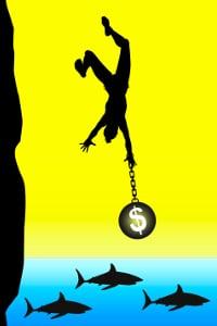 SchuldnerAtlas: Die weiche Überschuldung ist häufig der Einstieg in die Schuldenfalle.