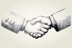 Ein Schuldverhältnis ist eine rechtliche Verbindung zwischen zwei Parteien.